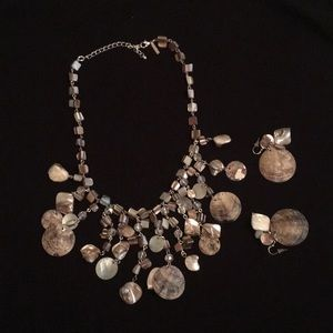 Lane Bryant she'll necklace and earrings